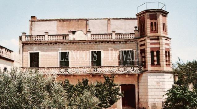 Miravet. Terres de l´Ebre. Tarragona. Casa Señorial y finca En venta