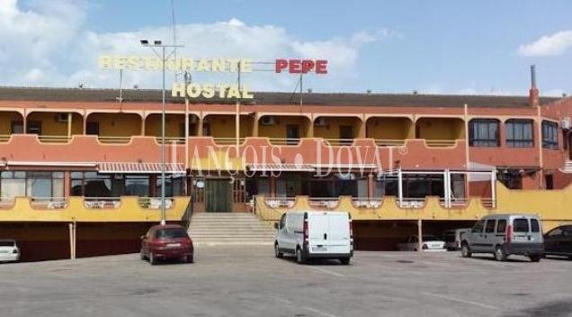 Graja de Iniesta. Cuenca. Hostal restaurante en venta.