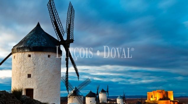 Casas solariegas en La Mancha, casas rurales con historia