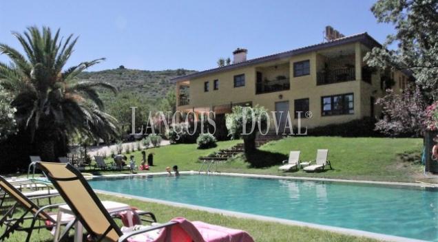 Valle del Jerte. Hotel rural con encanto en venta. Navaconcejo. Cáceres.