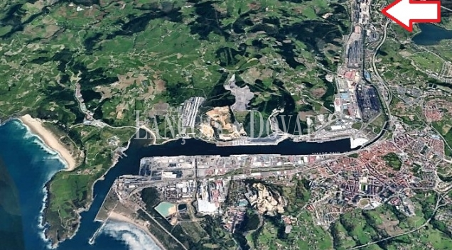 Asturias. Venta sociedad industrial. Naves con puente grúa cerca puerto Avilés.
