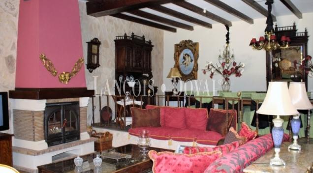 Toledo. Hotel con encanto en venta. Corral de Almaguer. Casas solariegas.
