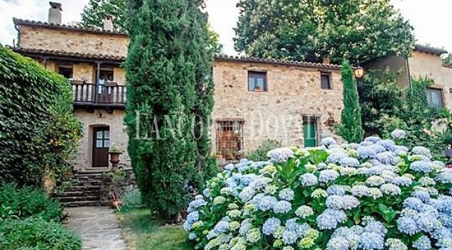 Valle del Jerte. Hotel rural con encanto en venta. Sierra de Gredos. Jerte. Tornavacas.