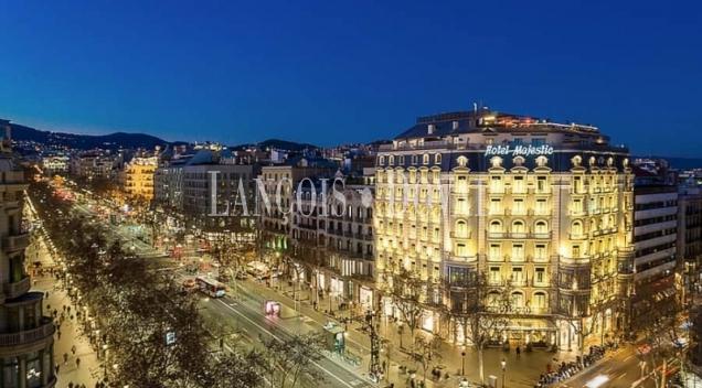 Piso de lujo en venta. Paseo de Gracia. Barcelona propiedades de prestigio.