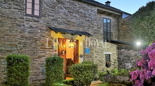 Lugo. Hotel rural con encanto en venta. Camino de Santiago.