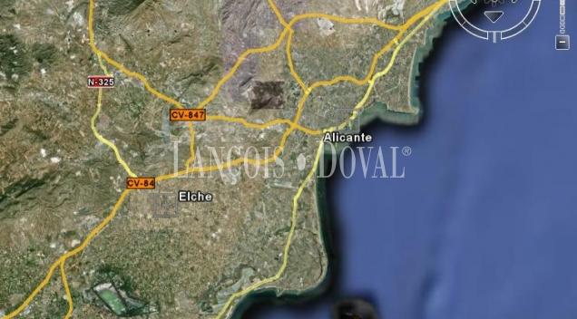Elche-Alicante Solar logístico industrial en venta