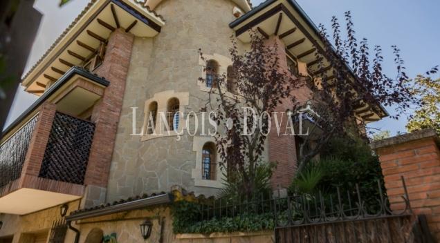 Sant Cugat. Chalet en venta. Barcelona propiedades exclusivas.