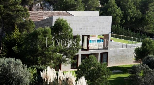 Chalet de lujo y diseño moderno junto golf de Canyamel. Capdepera. Mallorca