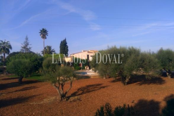 Venta finca con licencia para Turismo Vacacional. Centro isla de Mallorca