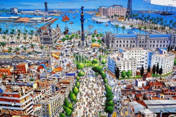 Barcelona. Alquilamos hotel o edificio emblemático