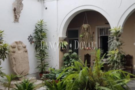 Casa Señorial en venta. Jerez de La Frontera. Cádiz propiedades singulares.