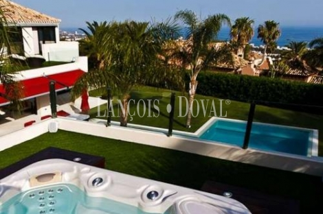 Preciosa Villa en venta. La Milla de Oro de Marbella. Málaga.