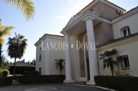 Espectacular Villa en La Milla de Oro de Marbella, Malaga