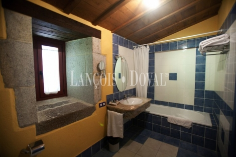 Ribeira Sacra. Lugo. Hotel con encanto en venta.