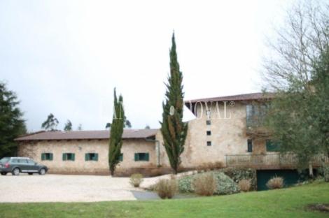 O Pino. A Coruña. Casa señorial en venta.