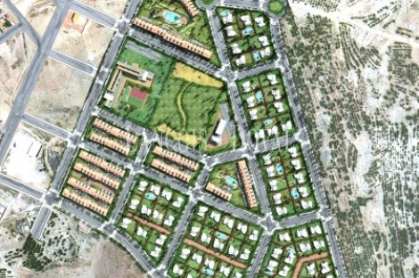 Sax. Alicante Sociedad y suelo edificable en venta.