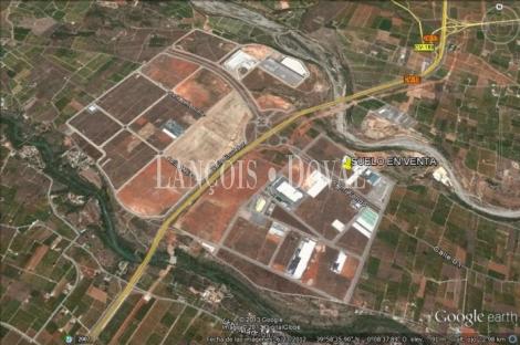 Almazora. Castellón. Suelo industrial logístico en venta.