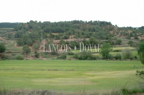 Sant Llorenç Savall. Barcelona. Finca y proyecto camping en venta.