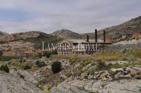 Finca en venta para proyecto residencial o turístico. Aliaga. Teruel