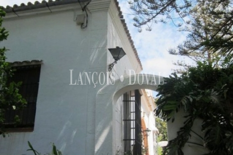 Finca y casa señorial en venta. Algeciras. Cádiz.