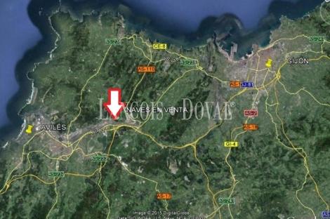 Naves y sociedad industrial en venta. Avilés. Asturias