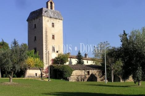 Magnífica casa señorial fortificada en venta con torre de defensa. Lliçà De Vall. Barcelona.