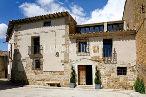 Singular casa rural en venta. La Hoya de Huesca. Ola. Alcalá del Obispo.
