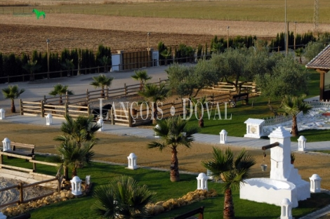 Parque Nacional de Doñana. Resort turismo ecuestre en venta. Sevilla.