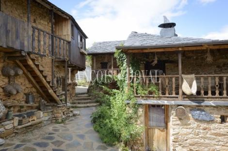 El Bierzo. Casa rural en venta. Orellán. Borrenes. Castilla León.