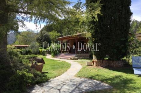 Finca y casa rural en venta. Durón. Entrepeñas. Alcarria. Guadalajara.