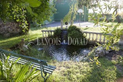 Venta finca y molino de salto de agua reconstruido. Campo de Borja. Zaragoza.