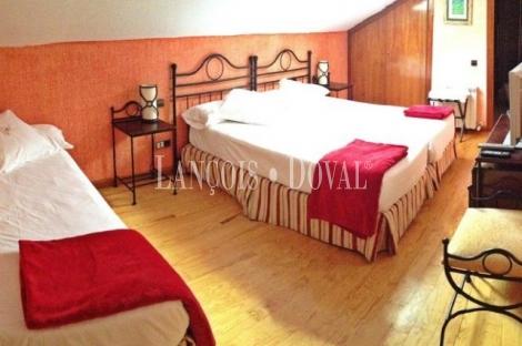 Hotel rural en venta. Sierra de Guadarrama. Puerto de Navacerrada. Madrid