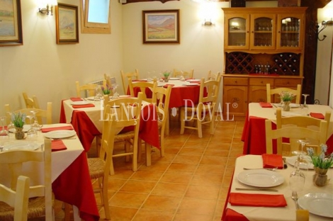 Burgos. Hotel restaurante en venta. Valle de Losa. Las Merindades.