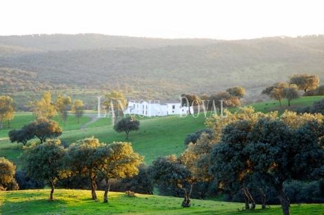 Sierra Morena. Dehesa con cortijo en venta. Finca de caza mayor y menor. Vilches. Jaén.