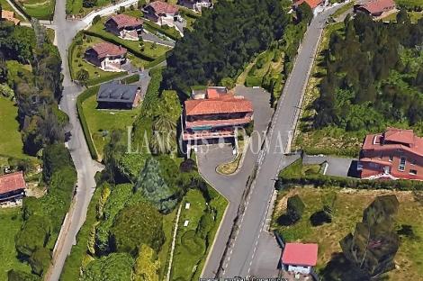 Somió. Gijón. Finca y chalet en venta. Asturias propiedades singulares.