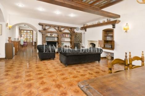 L´ Arboç. Casa en venta con licencia turística. Baix Penedés. Tarragona.