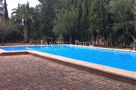 Finca y heredad en venta. Ontinyent. Ideal eventos. La Vall D' Albaida. Valencia