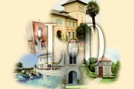 Ermita y casa palacio en venta. Edificio histórico en la provincia de Burgos.