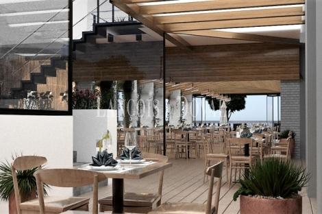 Restaurante en venta. Marbella. Paseo marítimo.
