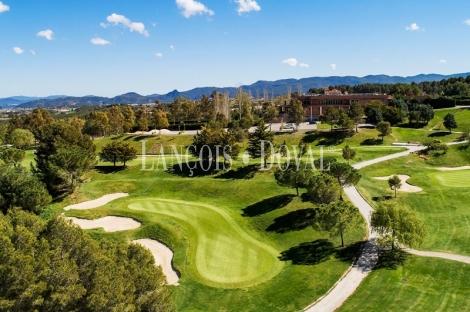 Golf Barcelona Masia Bach. Terrenos en venta. Parcelas residenciales