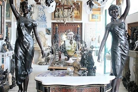Barcelona. Compra venta de antigüedades, pinturas y obras de arte.