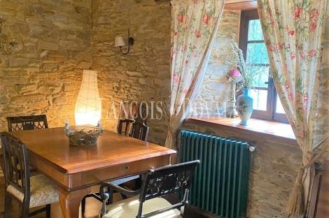 Asturias. Aldea rural en venta. Vegadeo. Antiguo molino.