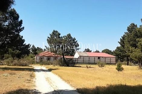 Segovia. Coca. Proyecto casa rural sostenible y ecológica busca inversor.