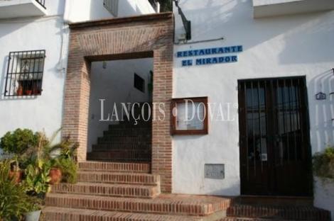 Frigiliana ( Malaga) Restaurante en venta