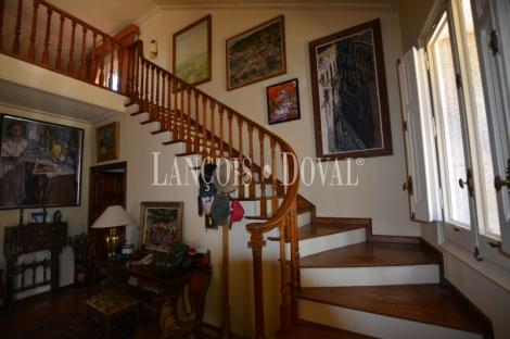 Maresme. Finca en venta con casa de lujo. Arenys de Munt propiedad exclusiva.