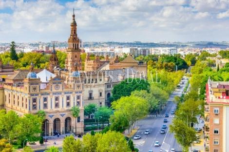 Sevilla. Solar edificable en venta. Ideal edificio emblemático en Avenida Manuel Siurot .