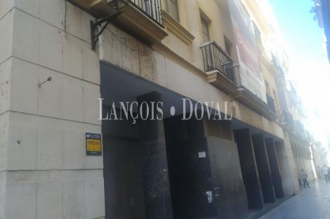 Cádiz. Centro Historico.  Edificio en venta. Comercial y hotelero. Posibilidad residencial.
