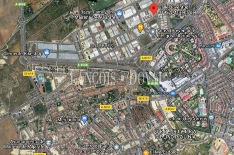Sevilla. Edificio oficinas en venta. Polígono Pisa.