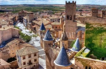 Ribera de Navarra. Zona Olite. Casa palacio en venta actualmente hotel con encanto.