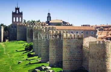 Ávila. Casa señorial en venta. Centro urbano. Cerca murallas.